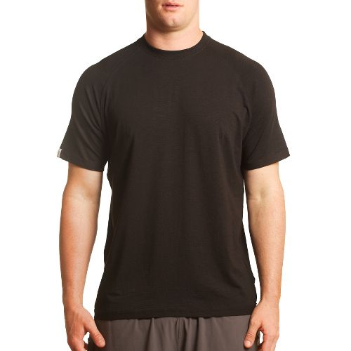 Mens Tasc Performance Course T Short Sleeve Technical Tops - Black S
