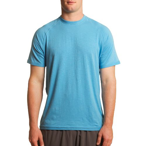 Mens Tasc Performance Course T Short Sleeve Technical Tops - Blue Moon L