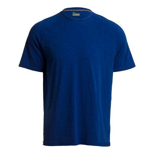 Mens Tasc Performance Course T Short Sleeve Technical Tops - Cobalt L