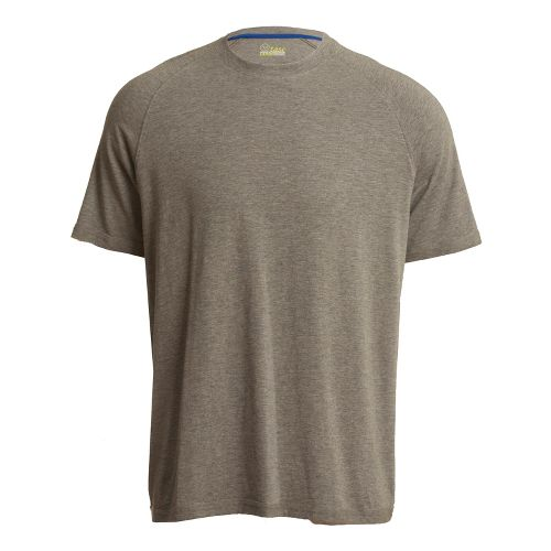 Mens Tasc Performance Course T Short Sleeve Technical Tops - Heather Grey L