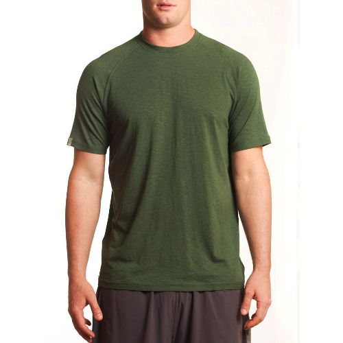 Mens Tasc Performance Course T Short Sleeve Technical Tops - Thriv Green XXL