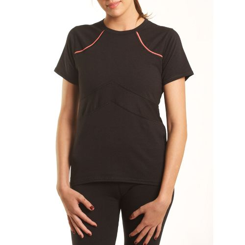 Womens Tasc Performance Stamina T Short Sleeve Technical Tops - Black L