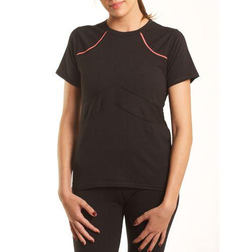 Womens Tasc Performance Stamina T Short Sleeve Technical Tops - Black XS