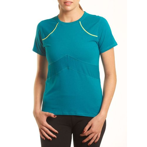 Womens Tasc Performance Stamina T Short Sleeve Technical Tops - Peacock S