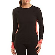 Womens Tasc Performance 5K Long Sleeve No Zip Technical Tops