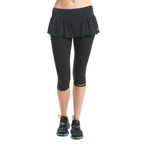 Womens Tasc Performance Slide Skapri Capri Tights - Black L