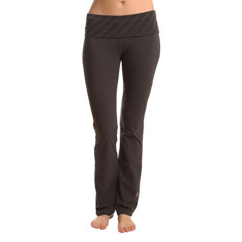 Womens Tasc Performance Bliss Yoga Full Length Pants - Gunmetal/Gunmetal L