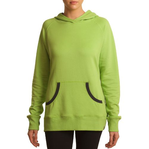 Womens Tasc Performance Pep Hoodie Warm-Up Hooded Jackets - Parrot S