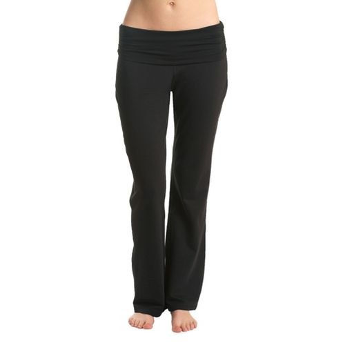 Womens Tasc Performance Toasty Fleece Full Length Pants - Black M