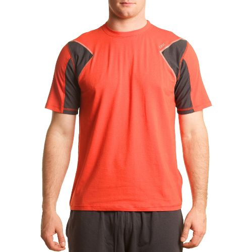 Mens Tasc Performance Dash T Short Sleeve Technical Tops - Lava XXL