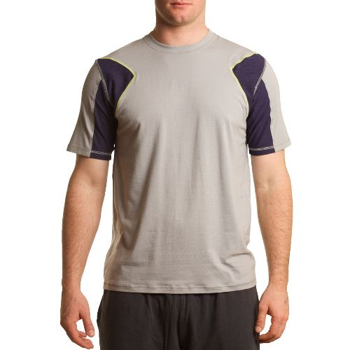 Mens Tasc Performance Dash T Short Sleeve Technical Tops - Storm L