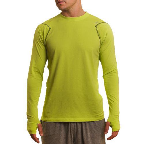 Mens Tasc Performance Flash Long Sleeve No Zip Technical Tops - Kryptonite L