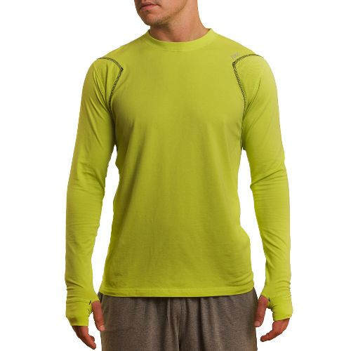 Mens Tasc Performance Flash Long Sleeve No Zip Technical Tops - Kryptonite S