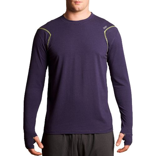 Mens Tasc Performance Flash Long Sleeve No Zip Technical Tops - True Navy S