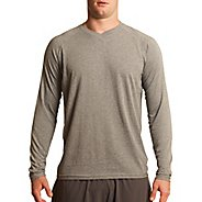 Mens Tasc Performance Clubhouse Long Sleeve No Zip Technical Tops