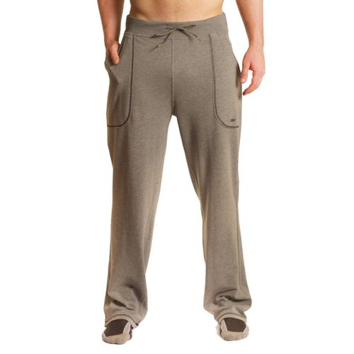 Mens Tasc Performance Fleece Camp Full Length Pants - Heather Grey L