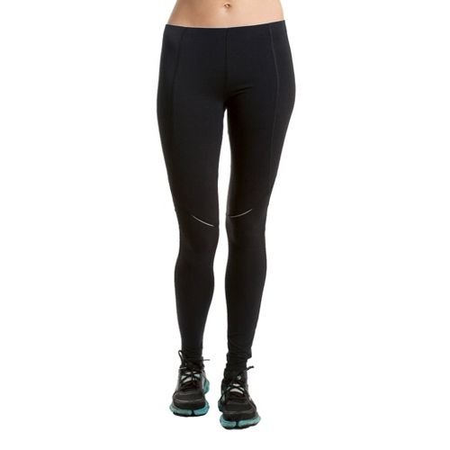 Womens Tasc Performance Cross Country Fitted Tights - Black M