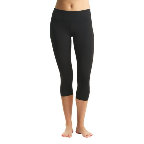 Womens Tasc Performance NOLA Crop Capri Tights - Black M