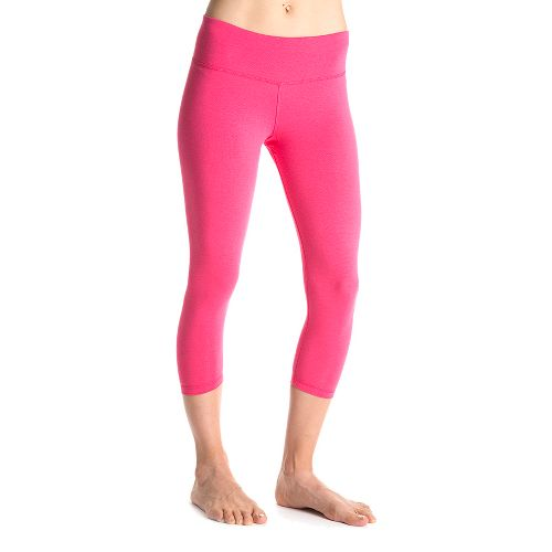 Womens Tasc Performance NOLA Crop Capri Tights - Watermelon M