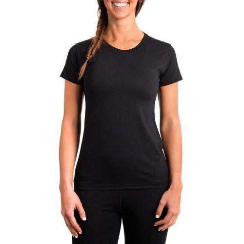 Womens Tasc Performance Mardi Gras Krewe Short Sleeve Technical Tops - Black L