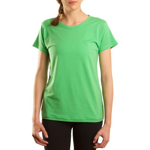 Womens Tasc Performance Mardi Gras Krewe Short Sleeve Technical Tops - Mojito L