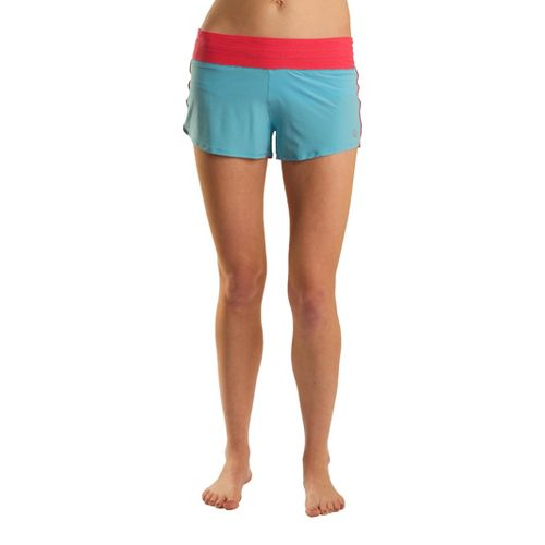 Womens Tasc Performance Magnolia Lined Shorts - Surf's Up/Watermelon M