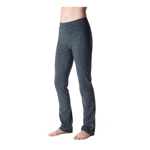 Womens Tasc Performance WOW Fitted Full Length Pants - Granite Heather L
