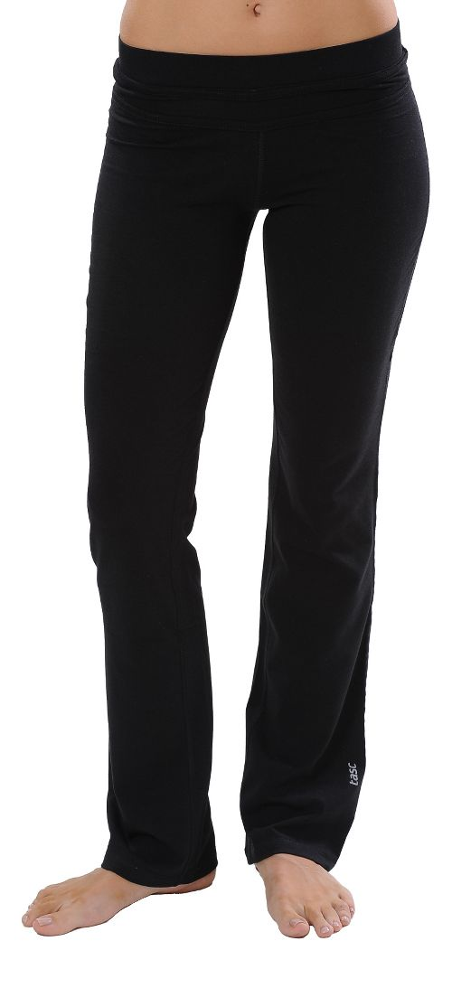 Womens Tasc Performance WOW Fitted Pants - Black XS
