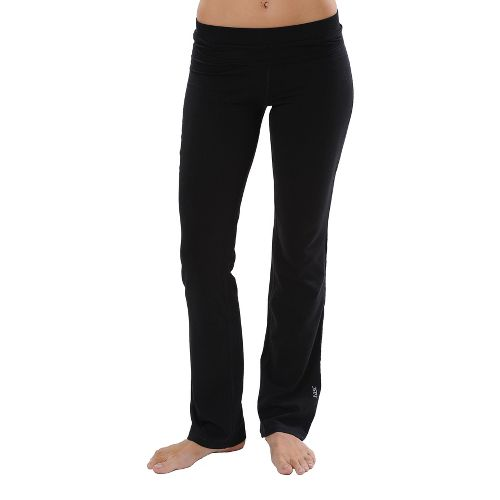 Womens Tasc Performance WOW Fitted Full Length Pants - Granite Heather S
