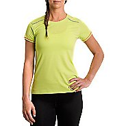 Womens Tasc Performance Pretty Petal Crew Short Sleeve Technical Tops