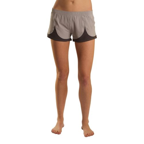 Womens Tasc Performance Spiral Lined Shorts - Surf's Up/White M