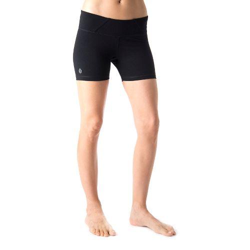 Womens Tasc Performance Hot Stuff Lined Shorts - Black XS
