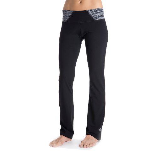 Womens Tasc Performance Hot Stuff Full Length Pants - Black/Storm Streak XL