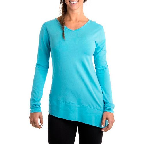 Womens Tasc Performance Swing Tunic Long Sleeve No Zip Technical Tops - Surf's Up S ...