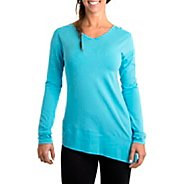 Womens Tasc Performance Swing Tunic Long Sleeve No Zip Technical Tops