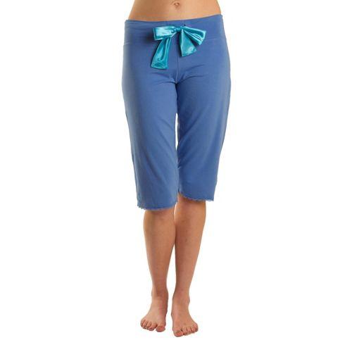 Womens Tasc Performance Serenity PJ Capri Pants - Denim XL