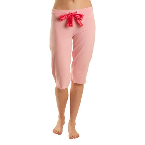 Womens Tasc Performance Serenity PJ Capri Pants - Petal Pink XL