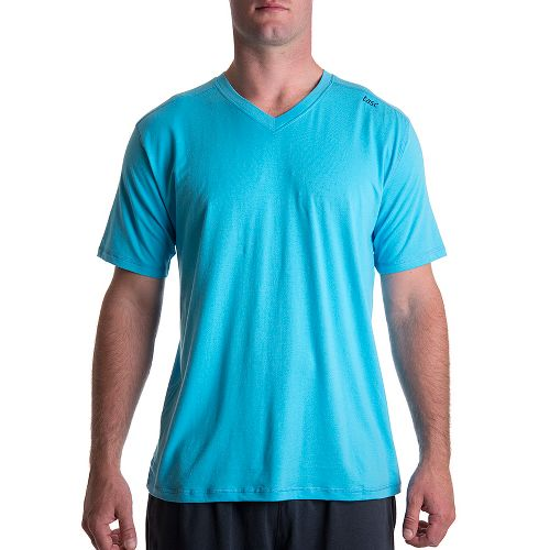 Mens Tasc Performance Vital V-Neck Short Sleeve Technical Tops - Catalina XL