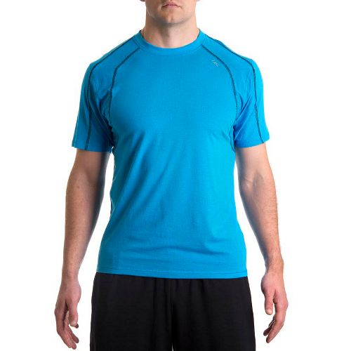 Mens Tasc Performance Zephyr T Short Sleeve Technical Tops - Tidal/Black L