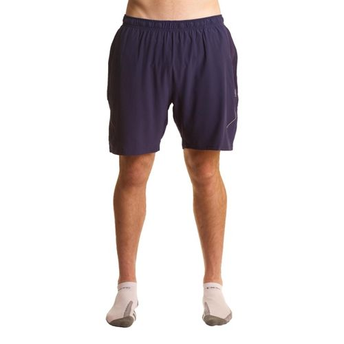 Mens Tasc Performance Propel 7 Training Lined Shorts - True Navy L