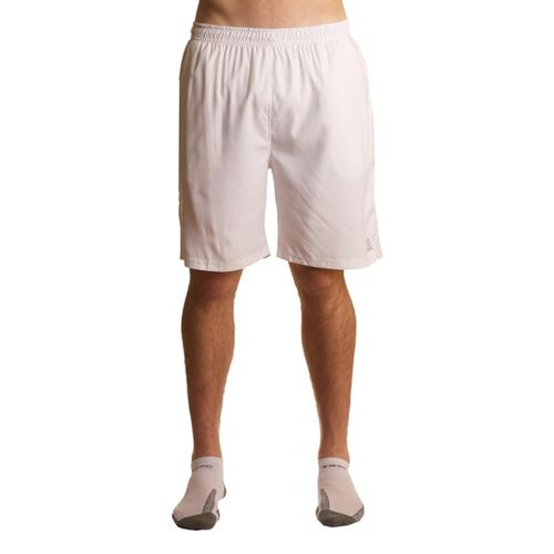 Mens Tasc Performance Rally Lined Shorts - White/Storm L