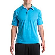 Mens Tasc Performance Trace Polo Short Sleeve Technical Tops