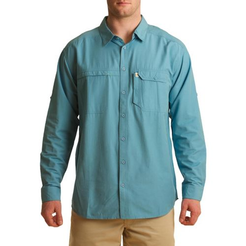 Mens Tasc Performance Ramble Shirt Long Sleeve No Zip Technical Tops - Catalina M