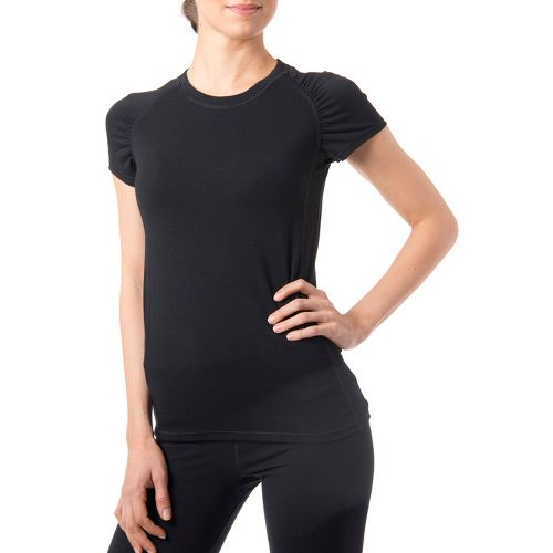 Womens Tasc Performance Zest T Short Sleeve Technical Tops - Black XL