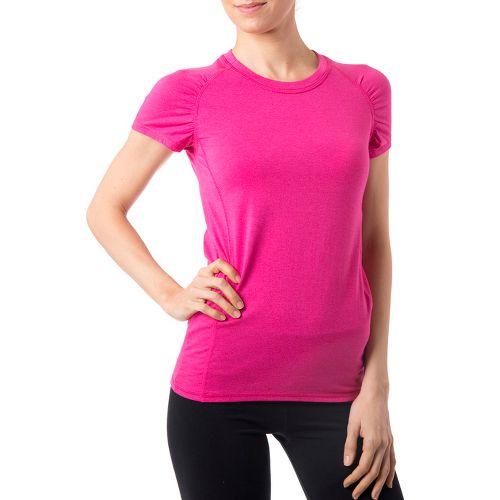 Womens Tasc Performance Zest T Short Sleeve Technical Tops - Fruit Punch XS