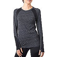 Womens Tasc Performance Aspire T Long Sleeve No Zip Technical Tops