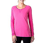 Womens Tasc Performance Rise Sweatshirt Long Sleeve No Zip Technical Tops