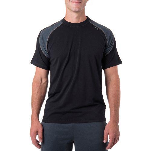 Mens Tasc Performance Instinct T Short Sleeve Technical Tops - Black/Gunmetal S