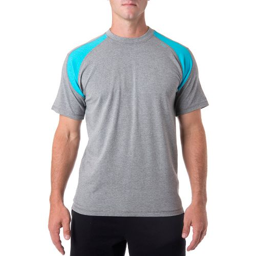Mens Tasc Performance Instinct T Short Sleeve Technical Tops - Heather Grey/Mt Lake L