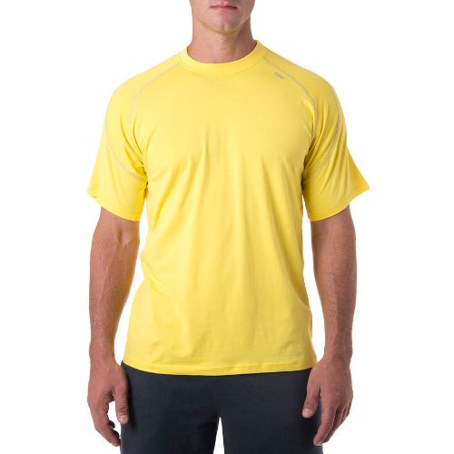 Mens Tasc Performance Instinct T Short Sleeve Technical Tops - Maize/Storm L